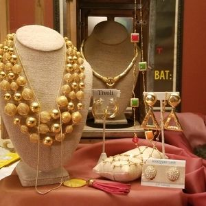 Gold Jewelry Bundle! Nina Ricci, Vintage, and New!